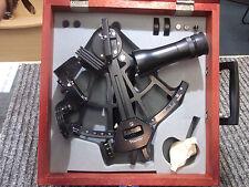 Tamaya Micrometer Marine Sextant Model MS-733 w/Certificate & wood box