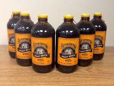 Bundaberg Root Beer Sixpack Old Fashioned Glass Bottled Soda Pop
