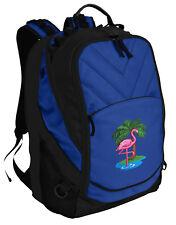 Unique Pink FLAMINGO Backpack Laptop Bags Computer Backpacks