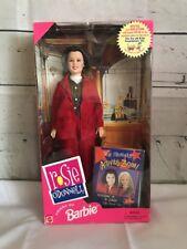 Barbie Friend - Rosie O'Donnell Doll & Microphone 1999 Nrfb