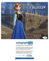 """Kristen Bell """"Frozen"""" AUTOGRAPH Anna Signed 8x10 Photo ACOA"""