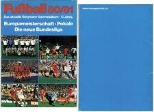 Sammelbilder Bergmann Fußball Bundesliga 1980 1981 komplett + 2 Panini Bilder