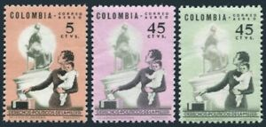 Colombia C448-C450,MNH.Michel 1042-1043,1053. Women's rights,1963-1964.