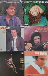 30 LP LOT NELSON NED, BRAULIO, ELIO ROCA, JULIO IGLESIAS, DANNY RIVERA, RODOLFO