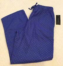 Tommy Hilfiger Mens Pajama Pants L 36-38 Blue Bermuda Sleepwear Lounge (3B34)