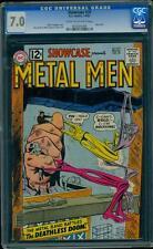 Showcase 39 CGC 7.0 Silver Age Key DC Comic 3rd Metal Men L@@K!