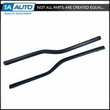 Front Door Outer Belt Weatherstrip Pair Set of 2 for Ford F150 Lincoln Mark LT