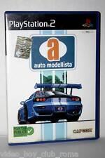 AUTO MODELLISTA GIOCO USATO SONY PS2 ED ITALIANA MANUALE MANCANTE AT1 33201