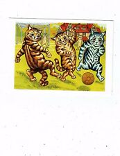 POST CARDS CATS ART CARD BY LOUIS WAIN MODERN REPRO FOM THE CHRIS BEETLES COLLEC