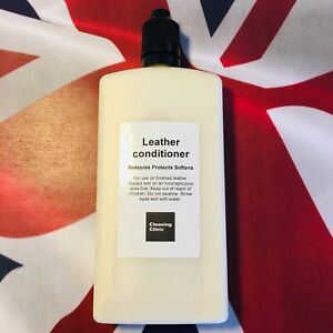 Leather cleaner conditioner restorer softener protector cream. Big 120ml bottle.