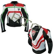Ducati Rossi Motogp Ducati 2014 Motorbike Leather Jacket
