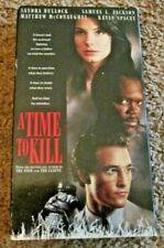 A Time to Kill (VHS, 1996) Sandra Bullock Samuel L. Jackson Matthew McConaughey