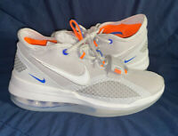 """Nike Air Force Max Low Mens Size 7.5 Shoes BV0651 005 Vast Gray """"Knicks"""""""