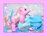 ❤️My Little Pony MLP G1 First Tooth Baby Lickety Split & Original Duck Comb❤️