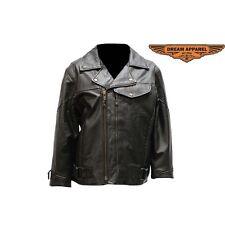 Pistol Pete Leather Jacket For Women LJ7080-09