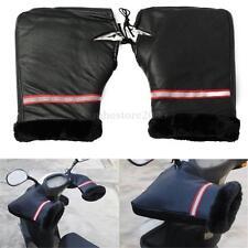 1Pair Winter Warmer Waterproof Motorcycle Grip HandleBar Muffs Hand Covers Glove