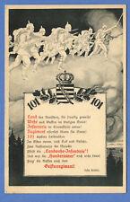 AK Postkarte Deutschland Propaganda 1 Weltkrieg gelaufen 1916