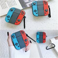 Silicone Earphone Protective Cover Case Bag for Nintendo Switch Apple Airpods1/2