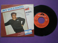 AVI TOLEDANO Ahora (English Vers.) SPAIN 45 1982 Eurovision Israel
