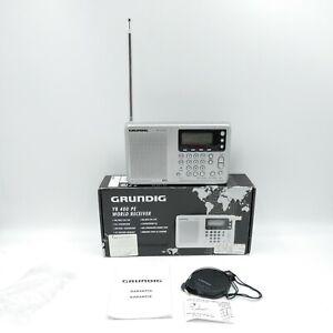 GRUNDIG YB 400 PE Yaght Boy World Receiver Factory TESTED