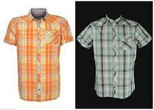 Markenlose Karierte figurbetonte Herren-Freizeithemden & -Shirts
