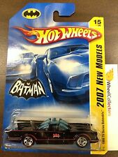 1966 TV Series Batmobile #15 * With MESH GRILL * 2007 Hot Wheels A17
