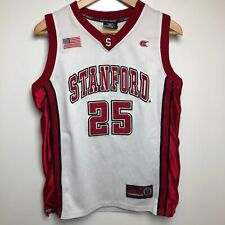 Colosseum Athletics Basketball Jersey Youth XL 16-18 White Red Stanford Cardinal