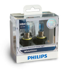 Philips HB4 WhiteVision Headlight Bulbs - 12V 51W P22d - TWIN PACK - 9006WHVS2