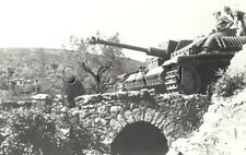 WWII German Panzer Tank- STUG IV- Sturmgeschütz- Large Imperial War Museum Photo