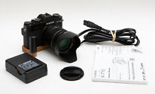 Fuji Fujifilm X-T10 Kit XT10 XT-10 Mirrorless Cam + XF 18-55mm R LM OIS - Black