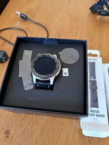 Samsung Galaxy Watch - Bluetooth Smart Watch - Silver with Leather Strap