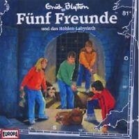"""FÜNF FREUNDE """"FÜNF FREUNDE UND DAS HÖHLEN-LABYRINTH (FOLGE 81)"""" CD HÖRBUCH NEU"""