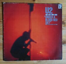 Under a blood red sky, U2, LP, Island Records 1983