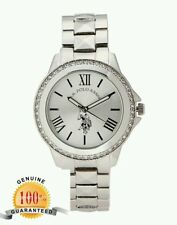 U.S. POLO ASSN. USC40081 Silver-Tone Watch 2499