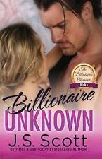Billionaire Unknown: The Billionaire's Obsession Blake by J S Scott (Paperback / softback, 2017)