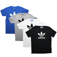 Adidas Men's Originals Trefoil Short Sleeve Cotton Tee T Shirt
