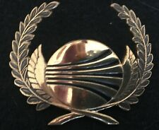 CONTINENTAL AIRLINES PILOT HAT BADGE 9TH ISSUE