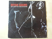 "BRYAN ADAMS ""CAN'T STOP THIS THING WE STARTED"" RARE 7"" VINYL"