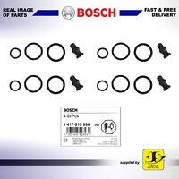 Genuine Bosch Injector Seal Repair Kits Audi, Seat, Skoda, VW x 4 set 1417010996