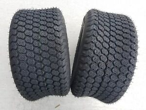 2 - 18x8.50-8 Super Turf K500 4 Ply Kenda PAIR of Lawn Mower Tractor Tires