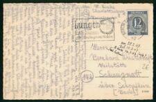 Mayfairstamps Germany 1947 Berlin Charlottenburg Card wwm_96771