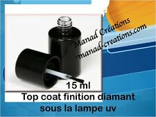 Gel UV LED finition Ultra Gloss Brillance Extrême Pinceau Top No Wipe Cleaner