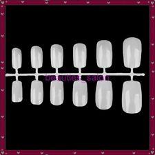 12pcs/1Spine Artificial Full Short Acrylic False Nail Art Tips Nail Practice