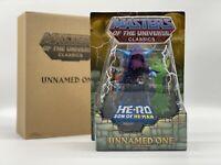 MOTU UNNAMED ONE Masters of the Universe He-man MOTUC Origins MIB MOC Rare Lot