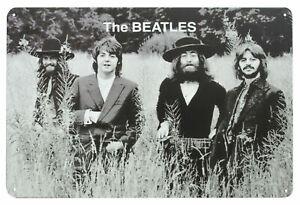 The Beatles TITTENHURST Metal Wall Sign Steel Plaque Bar Gift (20cm x 30cm)