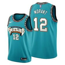 Men's Memphis Grizzlies 12 Ja Morant Green 2020 Jersey #12 size S-2XL