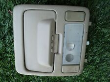 2000 - 2003 TOYOTA SOLARA OVER HEAD DOME LIGHT W/SUNROOF SWITCH TAN OEM  TAN OEM
