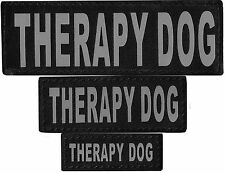 Therapy Dog Patch Reflective Extra Label Tag for Dog Harness Therapy