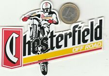 AUTOCOLLANTS .  Moto Cross. Chesterfield
