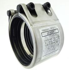 TEEKAY AXILOCK-S Typ I Rohrkupplung Edelstahl NBR Rohrvebinder Ø 114.3mm UNUSED
